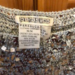 Parasuco Tops - Parasuco cropped sequin top